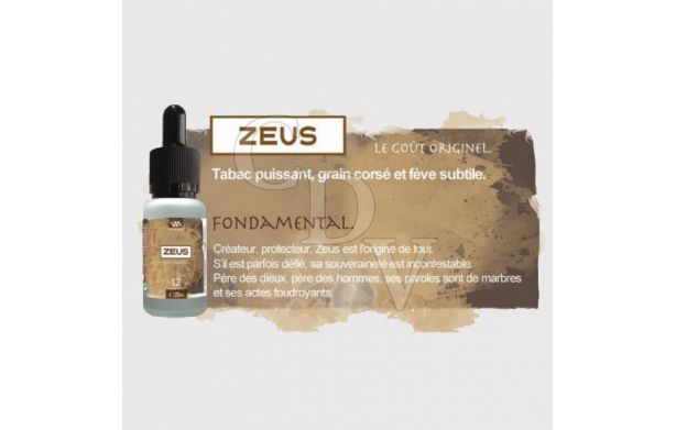 Zeus DLUO courte - Dieux de l'Olympe