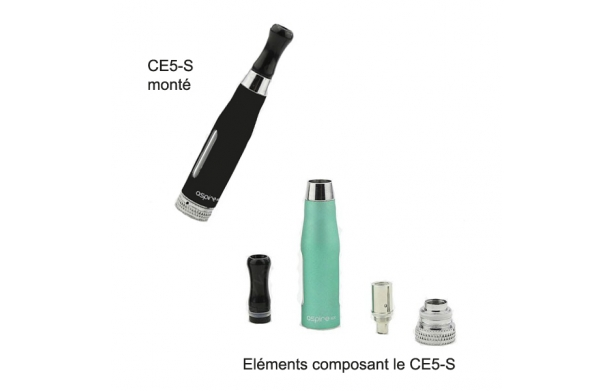 Clearomiseur CE5-S Aspire