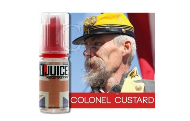 Colonel Custard by T-Juice DLUO courte