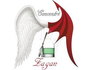 Zagan concentré - Ange ou Démon