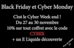 Black Friday au Cyber Monday : Le Cyber Week end